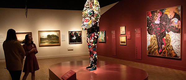 The Detroit Collects exhibit at the DIA features work by many African American artists, including the colorful suit by Nick Cave. (Photo: DIA)