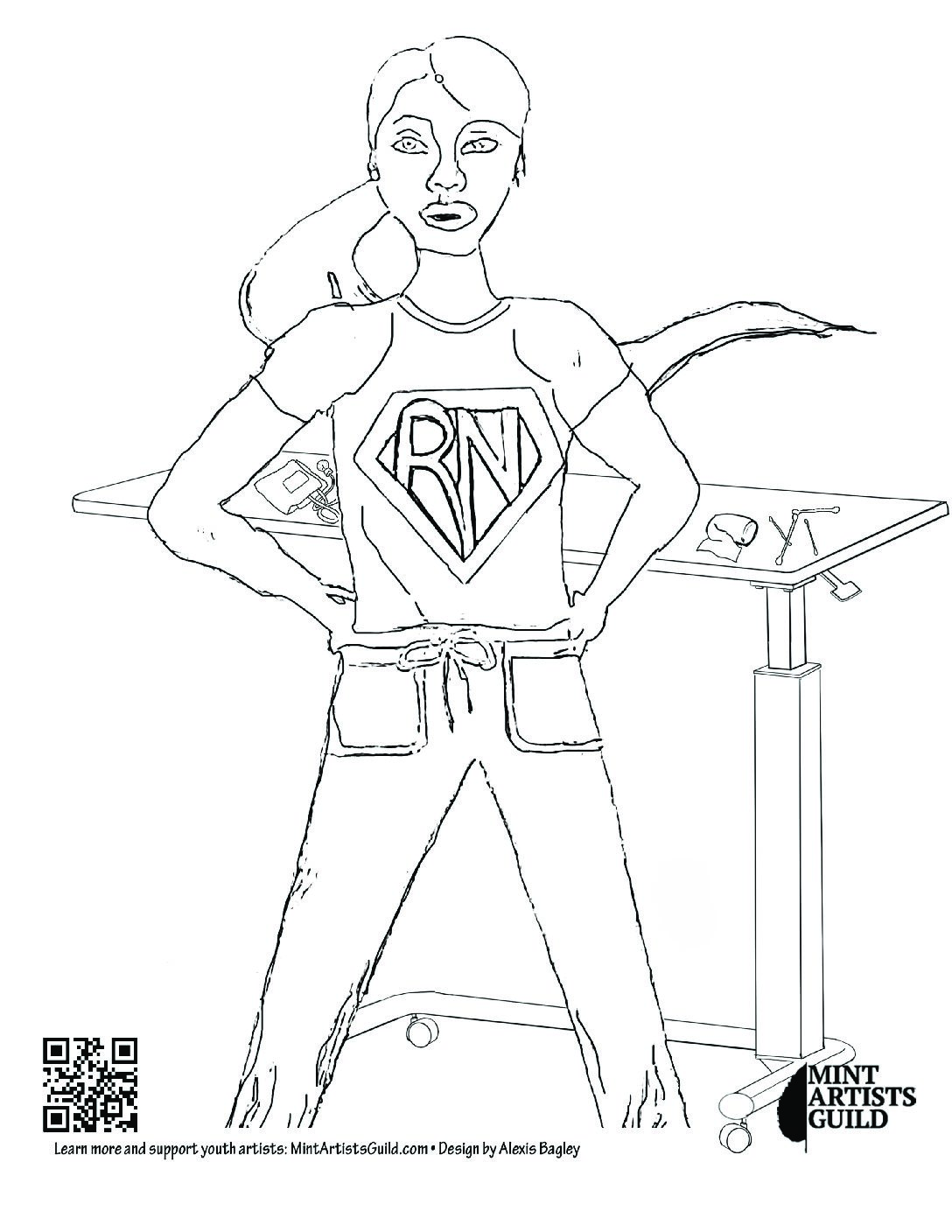 Coloring Pages & Book